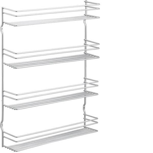 Utensili e accessori da cucina - Metaltex Pepito porta spezie 4 ripiani Poly therm 36x8x38 cm -