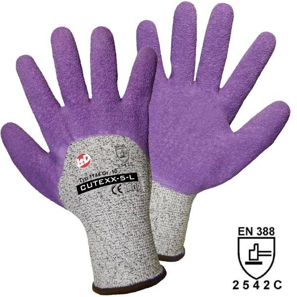 Guanti di protezione contro i tagli - Guanto di protezione dai tagli Fibra HPPE Taglia: 8, M EN 388 Livello protezione da taglio 5 L+D worky CUTEXX-5-L 1144-8  -