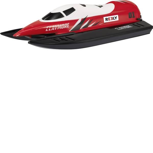 Barche telecomandate - Reely Claymore Barca a motore per principianti RtR 260 mm -