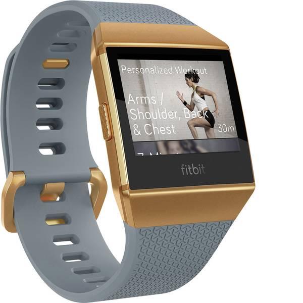 Dispositivi indossabili - FitBit Ionic Smartwatch Uni Ardesia, Blu -