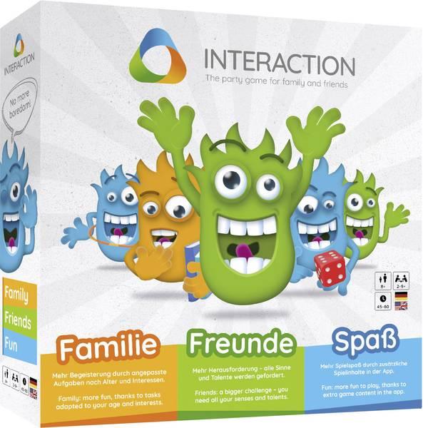 Giochi di società e per famiglie - INTERACTION – Das Partyspiel für Familie und Freunde -