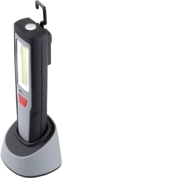 Torce con batterie ricaricabili - Ampercell 05085 Lampada da lavoro AM 2001C Nero - Grigio LED 3.5 h -