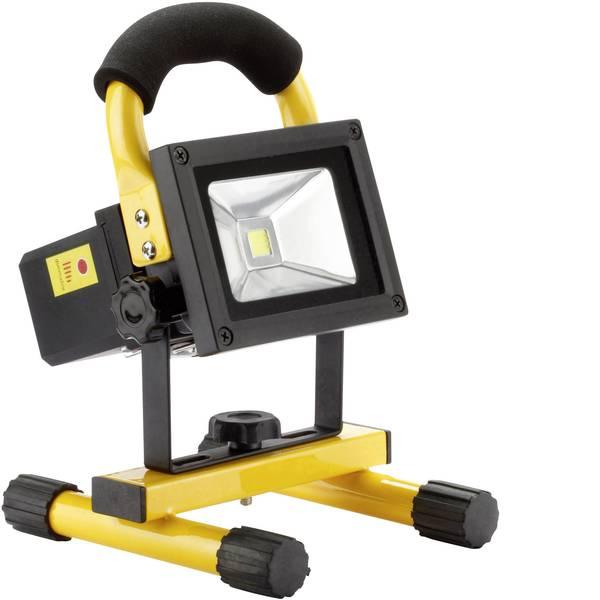 Torce con batterie ricaricabili - Ampercell 09100 Lampada da lavoro COB 10 W Nero Giallo LED 3 h -