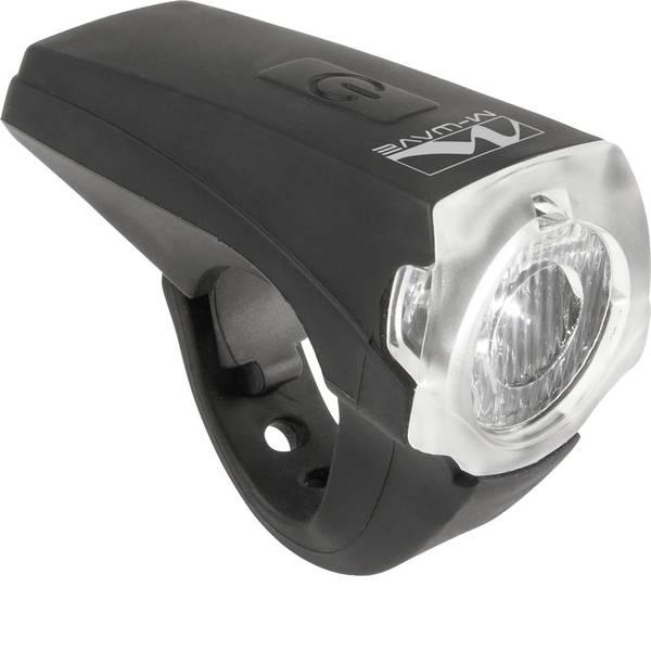 Luci per bicicletta - M-Wave Fanale anteriore APOLLON K 1.1 USB LED a batteria ricaricabile Nero -