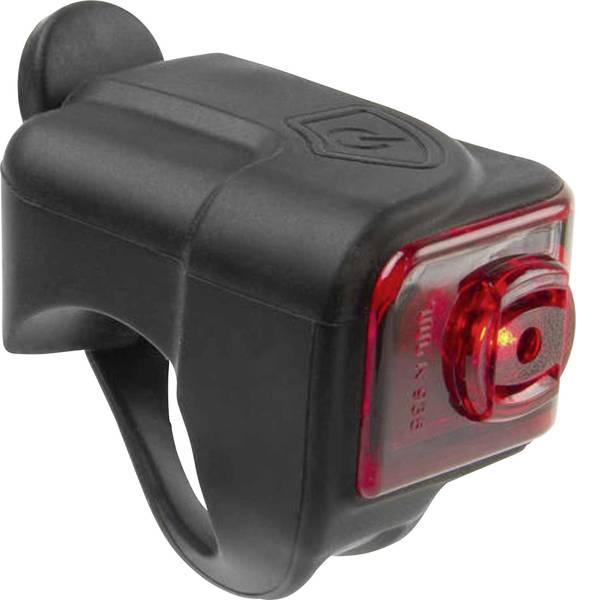 Luci per bicicletta - M-Wave Fanale posteriore HELIOS K1.1 USB LED a batteria ricaricabile Nero -