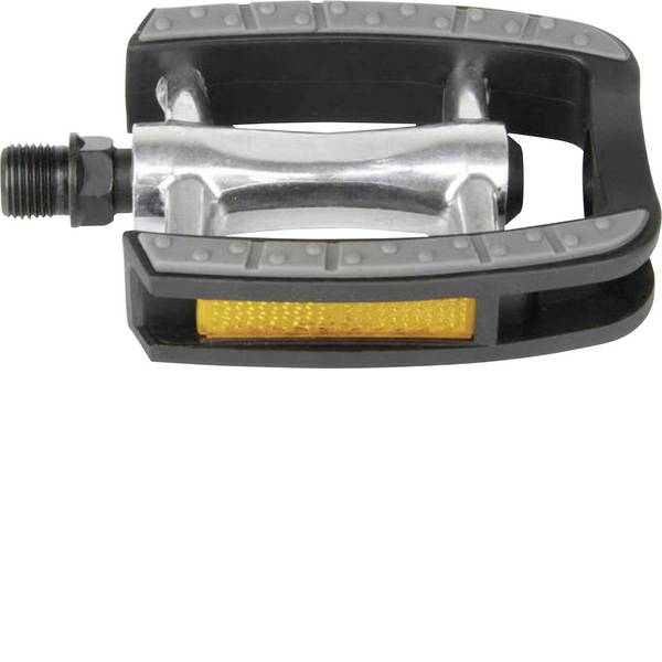 Pedali per bicicletta - Pedali M-Wave 311040 304 g Nero, Grigio, Argento -