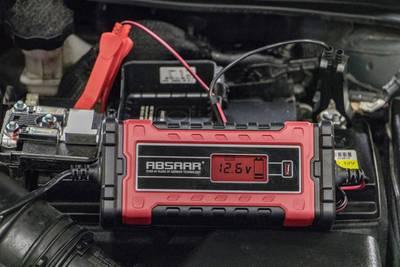 Absaar EVO 1.0 158000 Caricatore automatico 12 V, 6 V 1 A 1 A