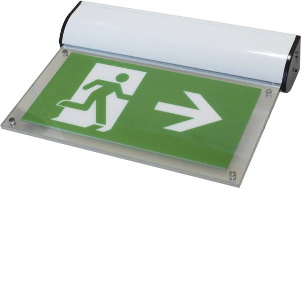 Segnaletica per uscite d`emergenza - Sensorit W Indicazione via di fuga illuminata a LED Montaggio a soffitto, Montaggio a parete verso sinistra, verso  -