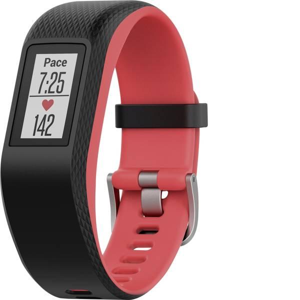 Dispositivi indossabili - Garmin vivosport Fuchsia Focus Fitness Tracker S Nero, Rosso -