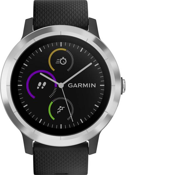 Dispositivi indossabili - Garmin vivoactive 3 black M/L Smartwatch L Nero -