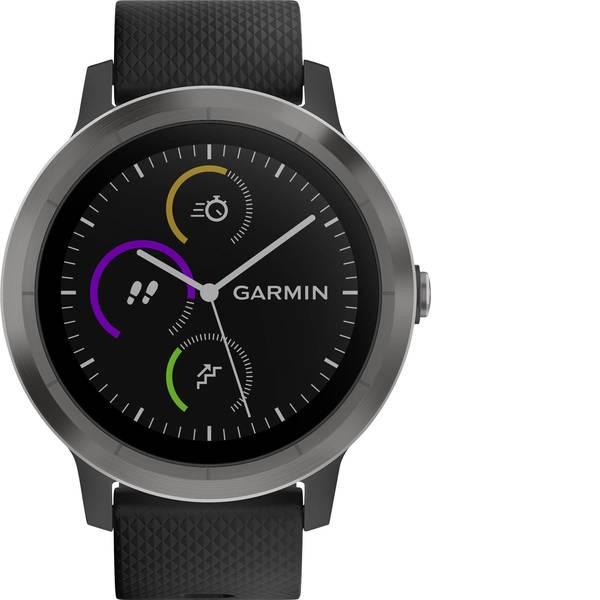 Dispositivi indossabili - Garmin vivoactive 3 black M/L Gunmetal Cardiofrequenzimetro GPS con sensore integrato L Canna di fucile -
