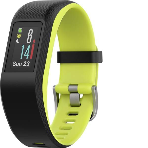 Dispositivi indossabili - Garmin vivosport Limelight Fitness Tracker L Nero, Verde -