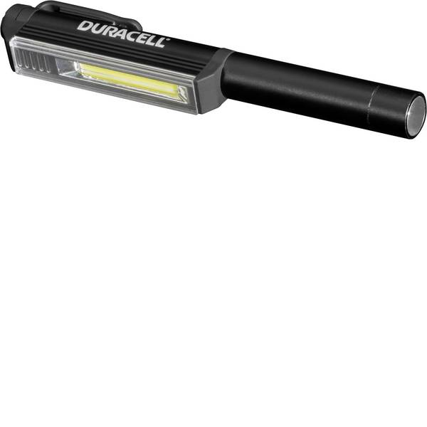 Mini torce - Lampada a forma di penna Penlight a batteria LED 160 mm Duracell PEN-2 PEN-2 Nero -