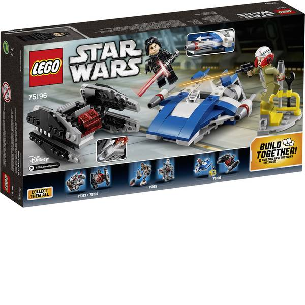 LEGO® STAR WARS - LEGO® STAR WARS™ 75196 A-Wing™ vs. ™ Microfighters smorzatore TIE -