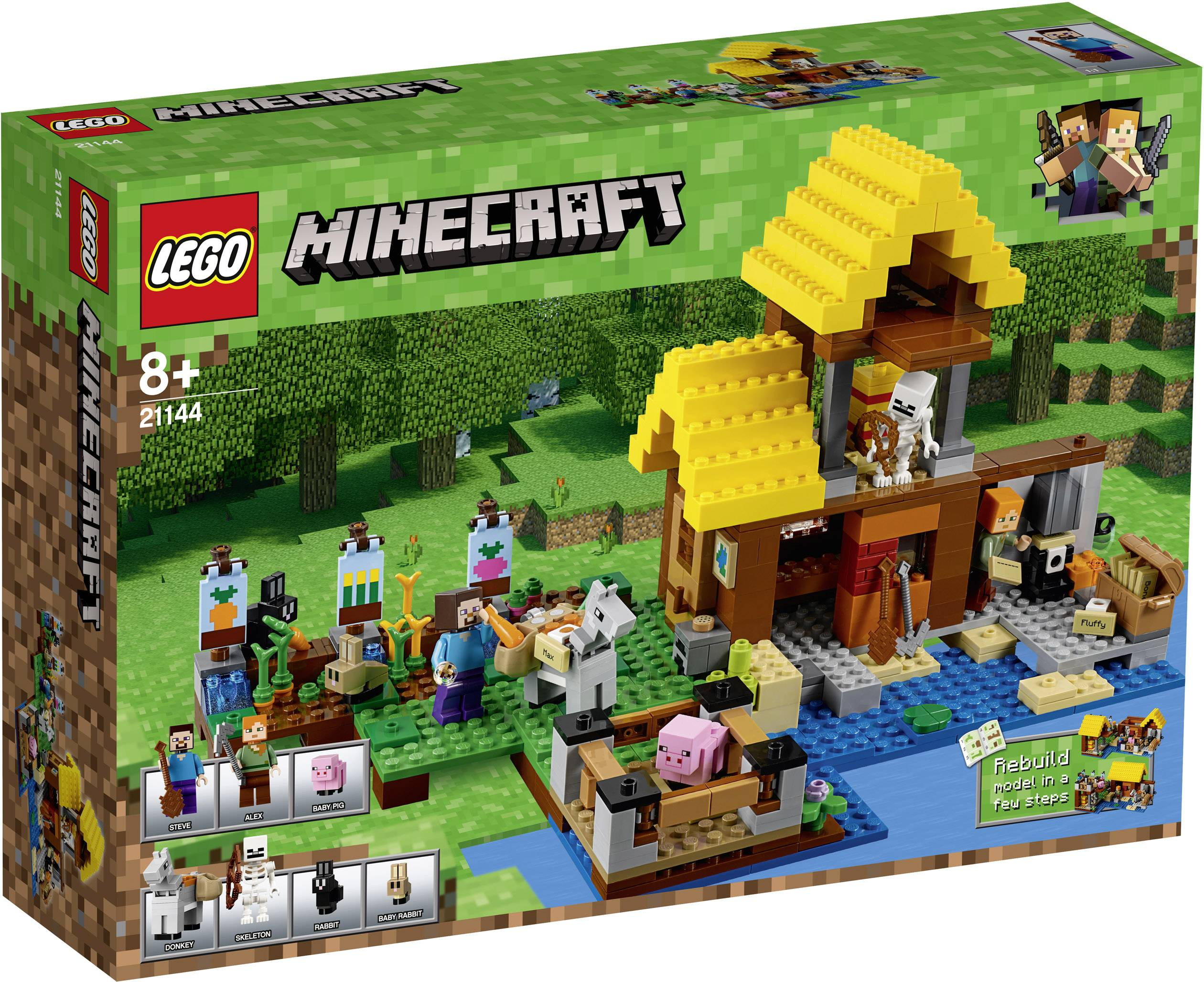 Gradini Di Legno Minecraft : Lego minecraft™ offerprice
