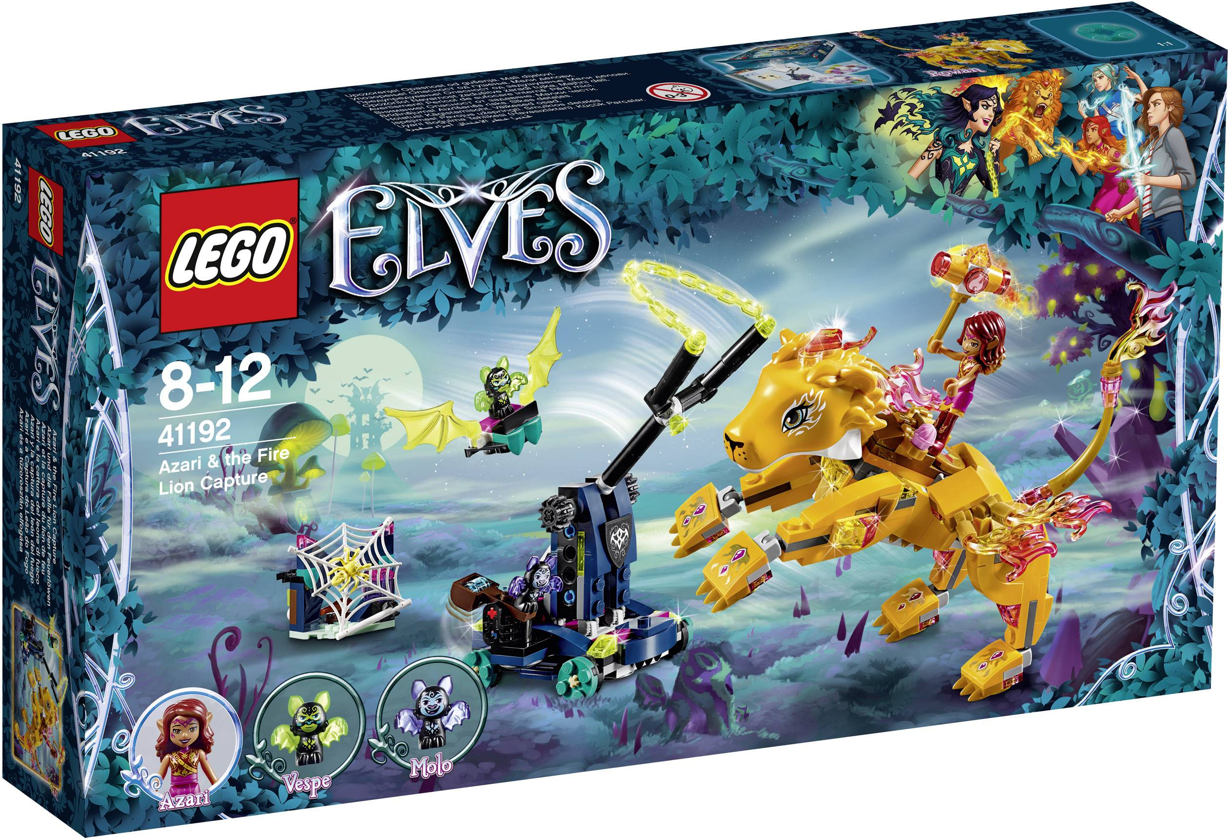 LEGO® ELVES 41192 Azari e la trapp