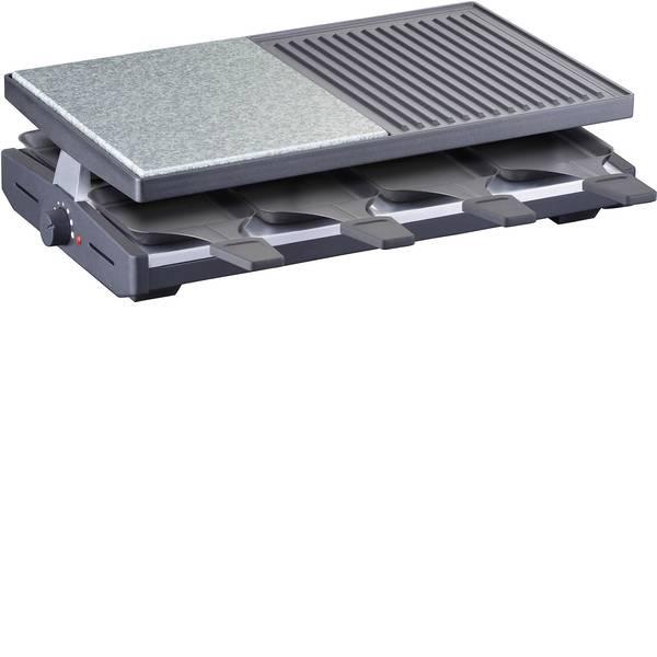 Raclette - Steba Germany RC58 Raclette 8 vaschette, Con regolazione manuale della temperatura Nero -