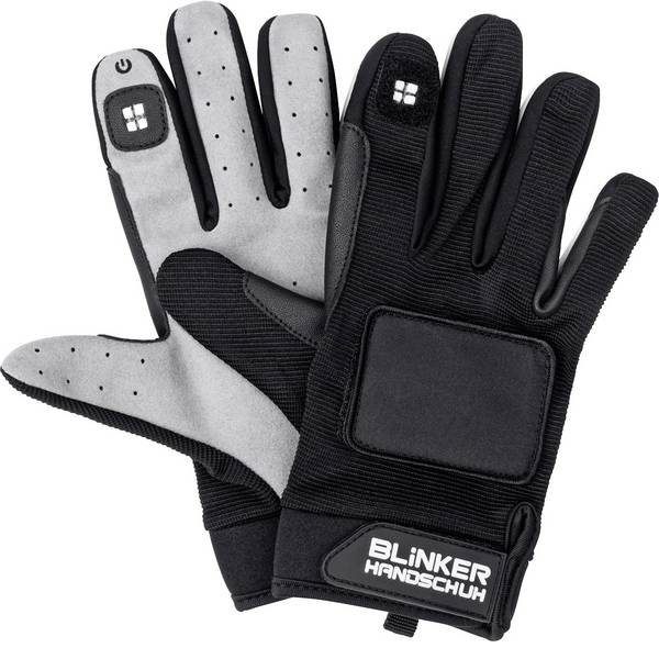 Guanti da bicicletta - Guanti Blinker Handschuh 0500 Nero lungo XL/XXL -