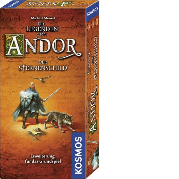 Giochi di società e per famiglie - La legenda dei Kosmos Andor - la targhetta a stella -