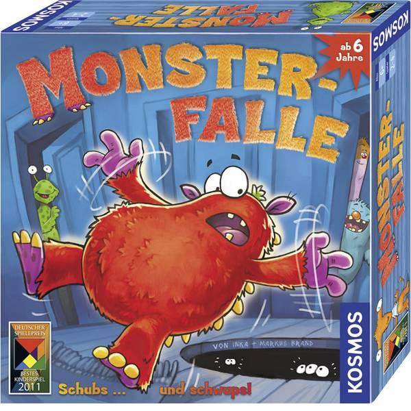 Giochi per bambini - Monster Kosmos caso - blocco ... e schwups! -