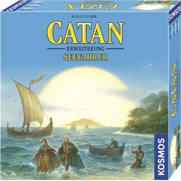 Giochi di società e per famiglie - Kosmos Catan - Seefahrer 694104 -