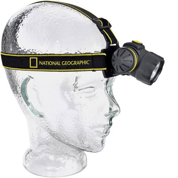 Lampade da testa - National Geographic LED Lampada frontale a batteria 150 lm 9082000 -