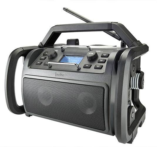 audisse Shokunin Internet Radio da cantiere Bluetooth, DAB+, Internetradio, FM, USB, WLAN antiurto , antipolvere ,