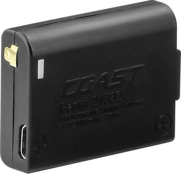 Accessori per torce portatili - Batteria ricaricabile di ricambio Nero Lampada frontale a LED Coast FL75R Coast 21532 -