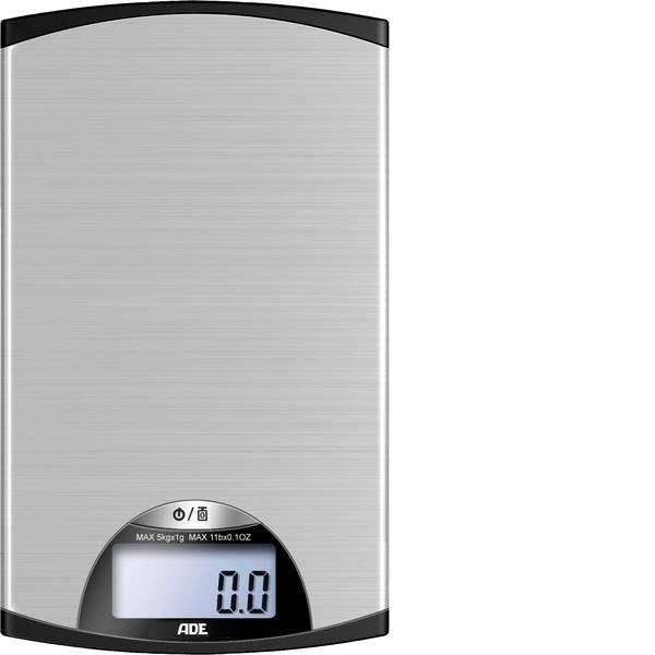 Bilance da cucina - ADE KE 850 Kylie Bilancia da cucina digitale Argento-Nero -