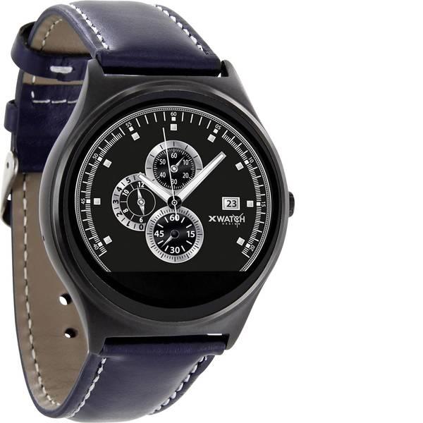 Dispositivi indossabili - X-WATCH QIN XW Prime II Smartwatch Navy-Blu -