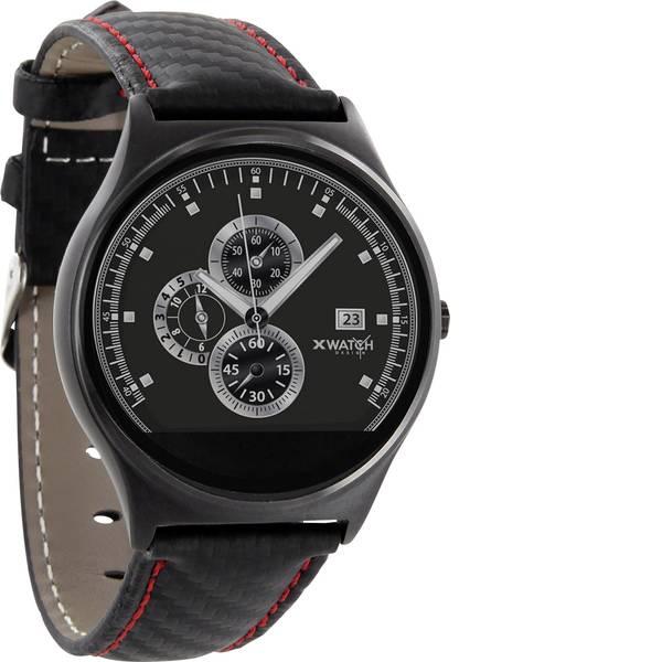 Dispositivi indossabili - X-WATCH QIN XW Prime II Smartwatch Rosso, Nero -