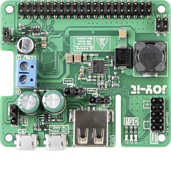 Shield Arduino e HAT Pi - Raspberry Pi® USV RB-Strompi-3 Arduino, Banana Pi, Cubieboard, pcDuino, Raspberry Pi® 2 B, Raspberry Pi® 3 B, Raspberry  -