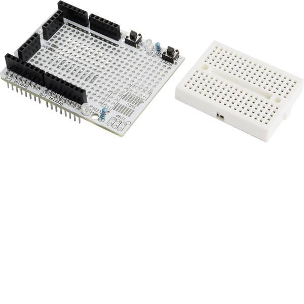 Shield e moduli aggiuntivi HAT per Arduino - Scheda di prototipazione MAKERFACTORY VMA201 adatto per (scheda): Arduino, Arduino UNO, Fayaduino, freeduino, seeeduino,  -