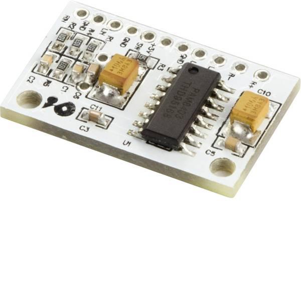 Moduli e schede Breakout per schede di sviluppo - Scheda amplificatore MAKERFACTORY VMA408 adatto per (scheda): Arduino, Arduino UNO, Fayaduino, freeduino, seeeduino,  -