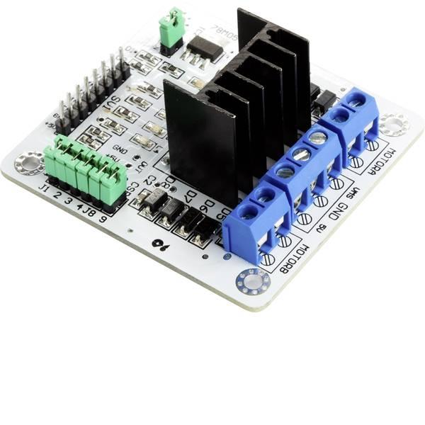Moduli e schede Breakout per schede di sviluppo - Modulo driver motore passo-passo ponticello Dual-H L298N Makerfactory -
