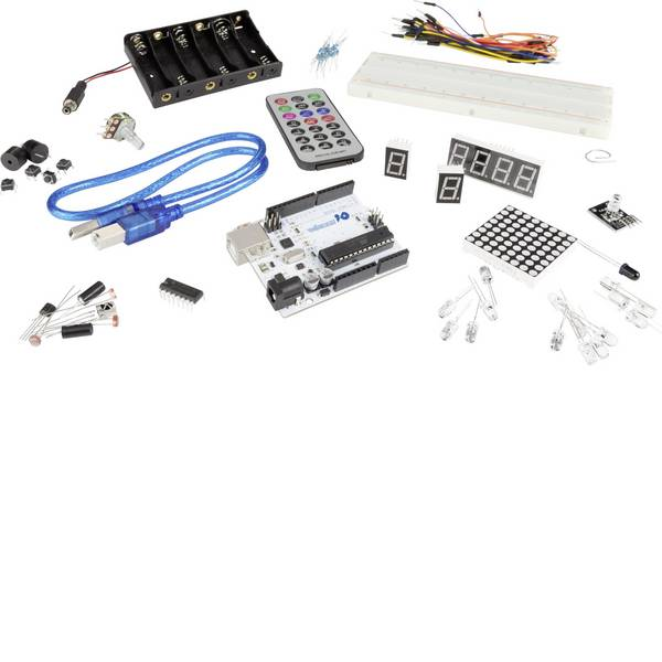 Kit e schede microcontroller MCU - Makerfactoy kit iniziale per Arduino® -