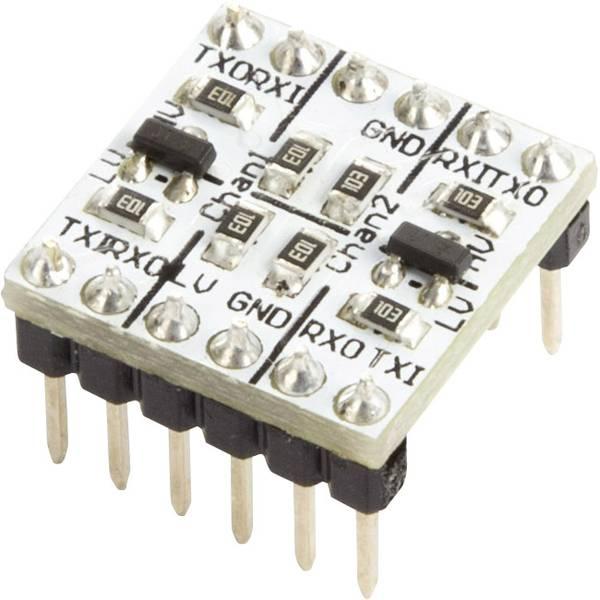 Moduli e schede Breakout per schede di sviluppo - Modulo convertitore 3.3 V / 5 V TTL Logic Level Makerfactory -