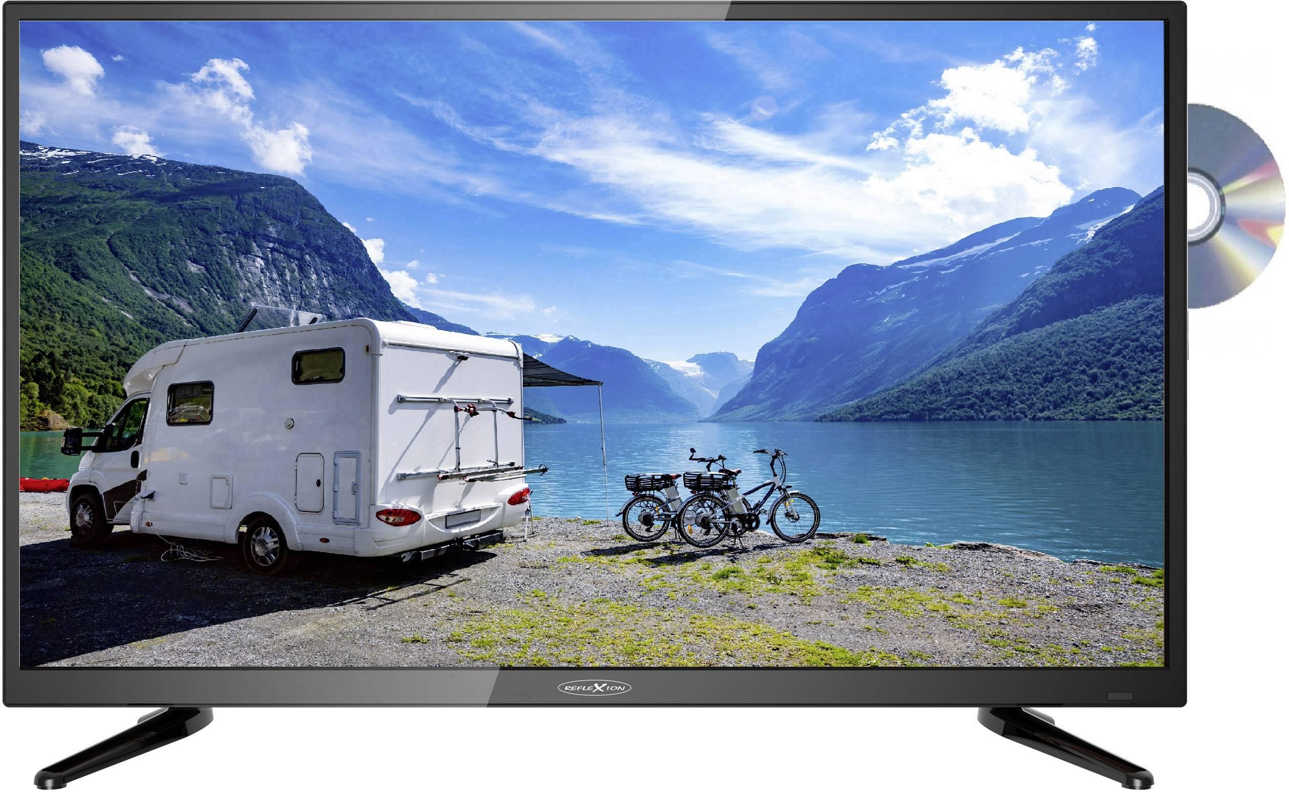 Reflexion LDD4088 TV LED 100 cm 40 pollici Classe energetica A (A+ - F) DVB-T2, DVB-C, DVB-S, Full HD, DVD-Player, CI+