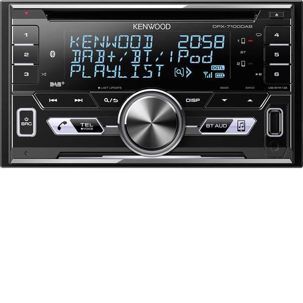 Autoradio e Monitor multimediali - Kenwood DPX-7100DAB Autoradio doppio DIN Vivavoce Bluetooth®, Collegamento per controllo remoto da volante -