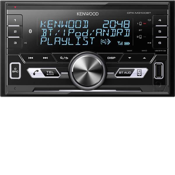 Autoradio e Monitor multimediali - Kenwood DPX-M3100BT Autoradio doppio DIN Collegamento per controllo remoto da volante -