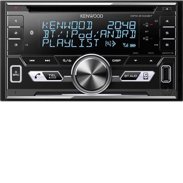 Autoradio e Monitor multimediali - Kenwood DPX-5100BT Autoradio doppio DIN Vivavoce Bluetooth®, Collegamento per controllo remoto da volante -
