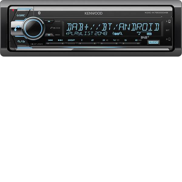 Autoradio e Monitor multimediali - Kenwood KDC-X7200DAB Autoradio Sintonizzatore DAB+, Vivavoce Bluetooth®, Collegamento per controllo remoto da volante -