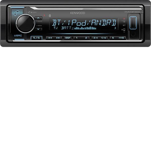 Autoradio e Monitor multimediali - Kenwood KMM-BT304 Autoradio Vivavoce Bluetooth®, Collegamento per controllo remoto da volante -