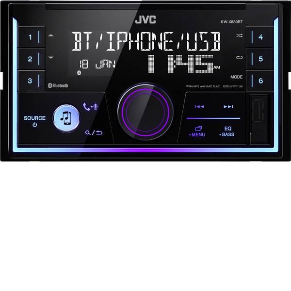 Autoradio e Monitor multimediali - JVC KW-X830BT Autoradio Vivavoce Bluetooth®, Collegamento per controllo remoto da volante -