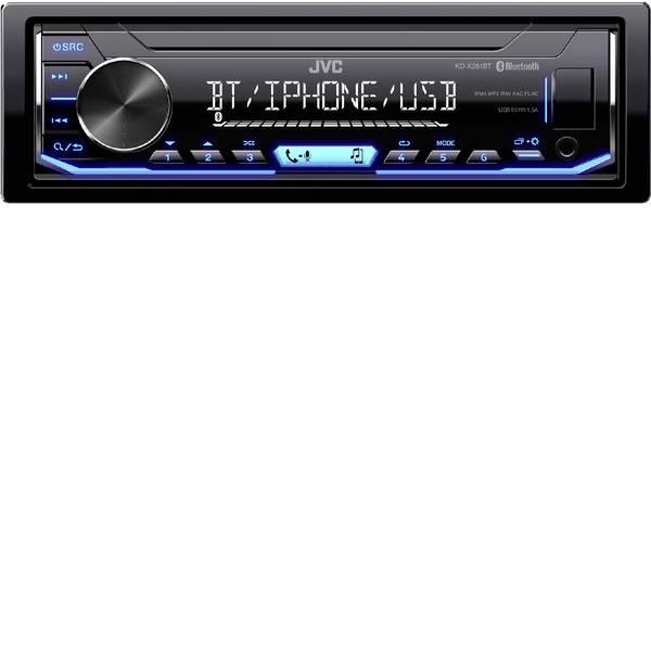 Autoradio e Monitor multimediali - JVC KD-X351BT Autoradio Vivavoce Bluetooth®, Collegamento per controllo remoto da volante -