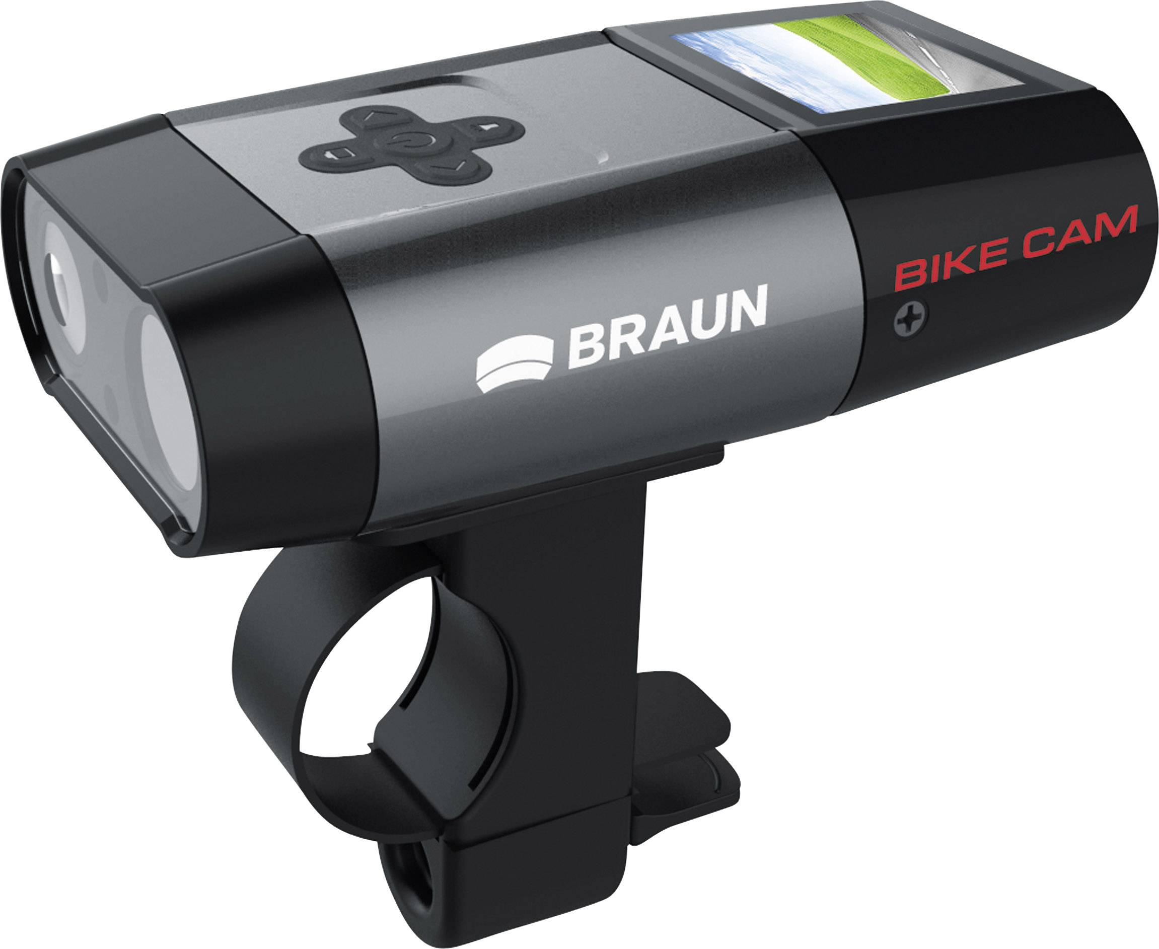 Braun Germany B-Bike Action camera Impermeabile, Antipolvere
