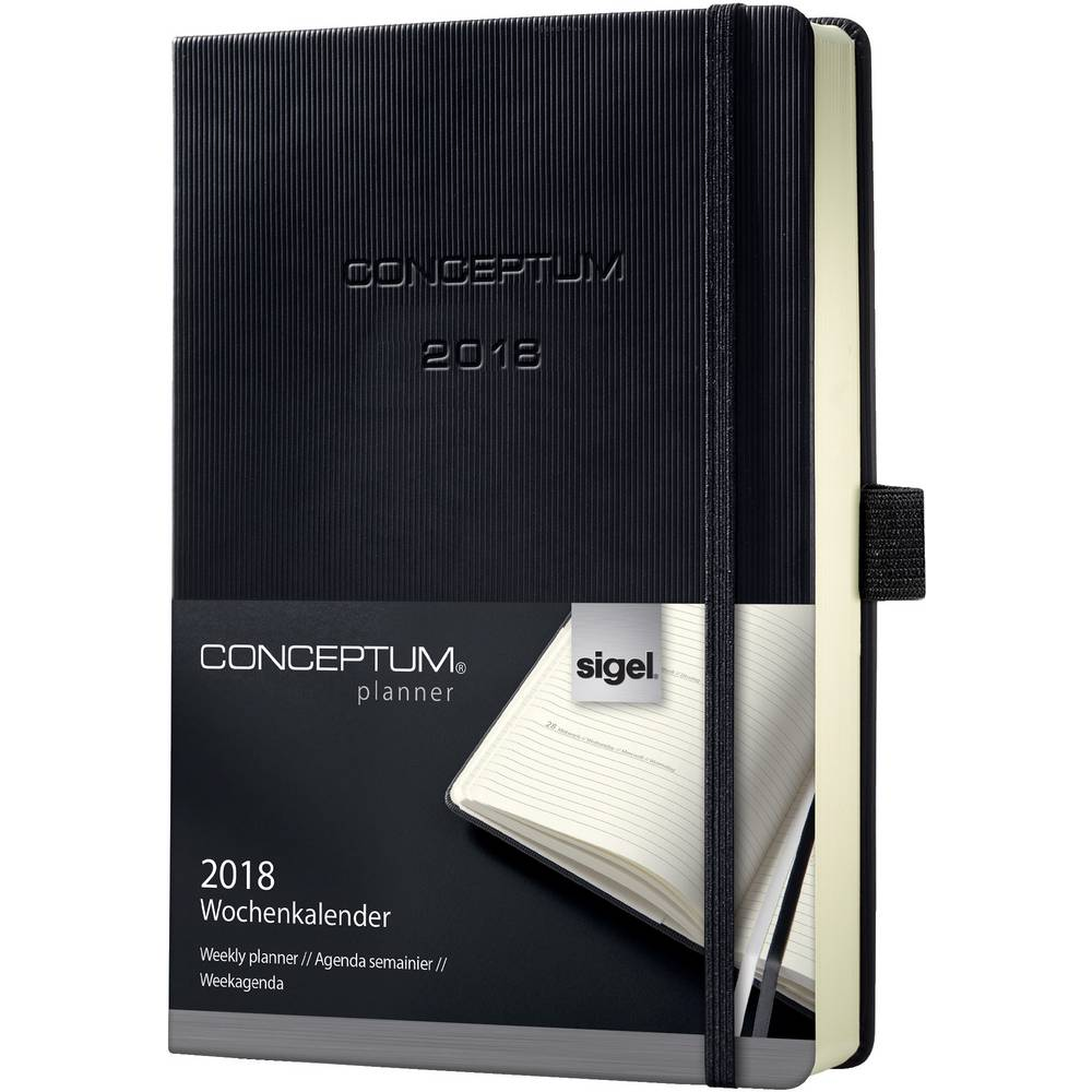 Pagina Calendario Settimanale.Sigel C1812 Conceptum 2018 Calendario Settimanale Cover