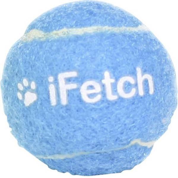 Prodotti per animali domestici - Lancia palle iFetch Ball 40 Bianco-Blu 1 pz. -