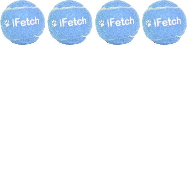 Prodotti per animali domestici - Lancia palle iFetch Ball 40 Bianco-Blu 4 pz. -