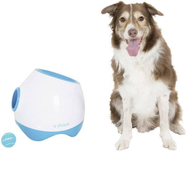 Prodotti per animali domestici - Lancia palle iFetch Too Bianco-Blu 1 pz. -